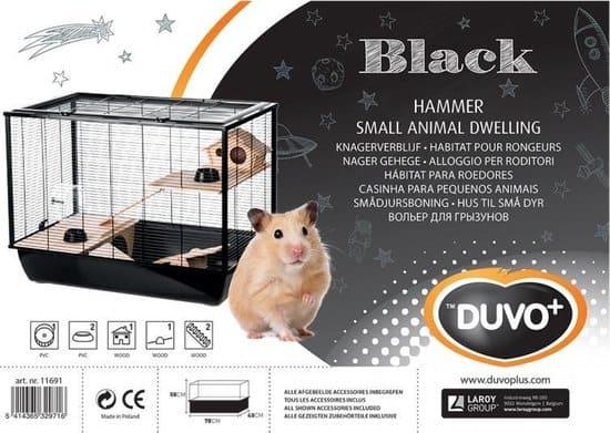 Duva+ hamsterkooi verpakking