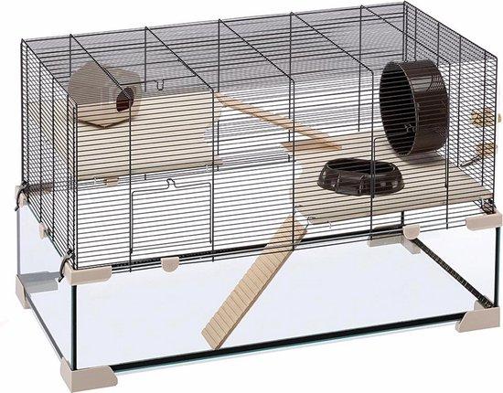 Ferplast Hamsterkooi Karat 80 - 78,5 x 45,5 x 52,5 cm