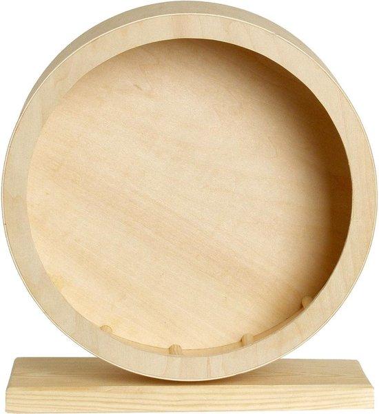 Bogie Wheel met Kurk - Looprad - Bruin - Ø 28,5 cm