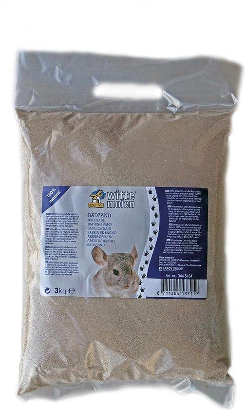 Witte Molen Chinchillazand - 3 kg